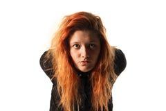 Menina do Redhead Foto de Stock Royalty Free