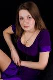 Menina do retrato Fotos de Stock Royalty Free