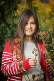 Menina do retrato fotografia de stock royalty free