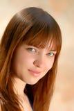 Menina do retrato, close-up imagens de stock royalty free