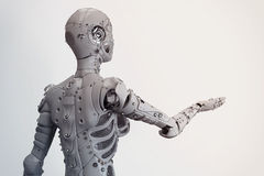 Menina do robô Ilustração do Vetor