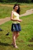 Menina do russo Foto de Stock Royalty Free