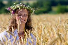 Menina do russo Fotografia de Stock