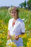 Menina do russo Imagens de Stock