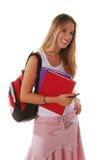 Menina do sénior de High School Imagem de Stock Royalty Free