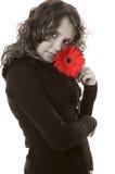 Menina do Sepia imagem de stock royalty free