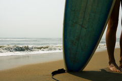 Menina do surfista Foto de Stock