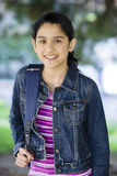 Menina do Tween ao ar livre Fotografia de Stock Royalty Free