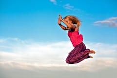Menina do vôo Fotos de Stock Royalty Free
