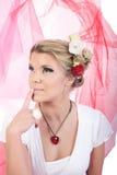 Menina do Valentim Imagem de Stock