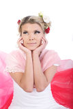 Menina do Valentim Imagens de Stock Royalty Free