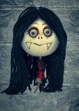 Menina do vampiro foto de stock royalty free