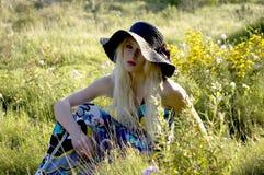 Menina do verão Fotos de Stock
