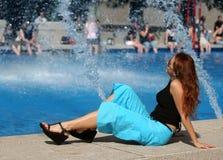 Menina do verão fotos de stock royalty free