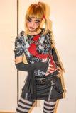 Menina do zombi Fotos de Stock