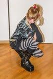 Menina do zombi Imagens de Stock Royalty Free