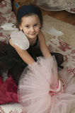Menina doce da bailarina Fotografia de Stock Royalty Free