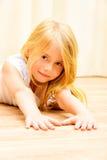 Menina doméstica Foto de Stock
