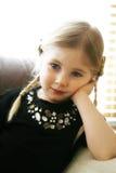 Menina dos anos de idade quatro   foto de stock royalty free