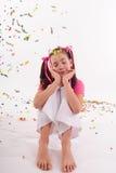 Menina dos doces Fotografia de Stock Royalty Free