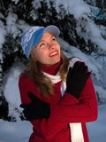 Menina dos Frozens Imagens de Stock Royalty Free