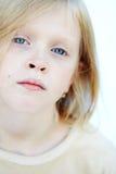 Menina dos olhos azuis Imagem de Stock Royalty Free