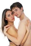 menina e homem junto 3 Imagem de Stock Royalty Free