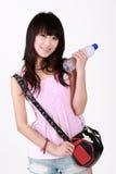 Menina elegante asiática Fotografia de Stock