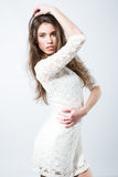 Menina elegante lindo Foto de Stock Royalty Free