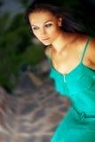 Menina em ao ar livre. Imagem de Stock