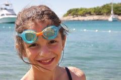 Menina em férias Imagens de Stock