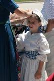 Menina em Holland Fest 2016 Fotografia de Stock Royalty Free
