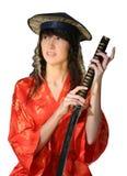 Menina em oriental tradicional   Imagem de Stock Royalty Free
