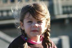 Menina em um barco. Imagem de Stock Royalty Free