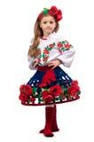 Menina em um vestido Imagem de Stock Royalty Free