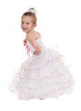 Menina em um vestido de bola fotos de stock