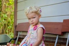 A menina encantador fotografia de stock