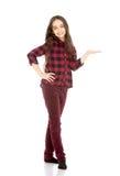 Menina encantador da idade escolar Imagens de Stock Royalty Free