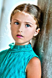 Menina encantadora em Veneza Imagem de Stock