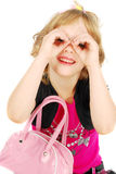 Menina engraçada. Foto de Stock