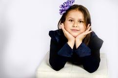 Menina engraçada Imagem de Stock