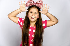 Menina engraçada Foto de Stock