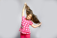 Menina engraçada Imagem de Stock Royalty Free
