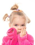 Menina engraçada Foto de Stock Royalty Free