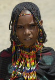 Menina etíope 3 Fotos de Stock Royalty Free