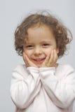 Menina excitada Imagem de Stock Royalty Free