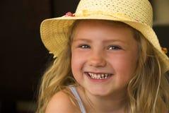 Menina feliz! Foto de Stock Royalty Free