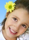 Menina feliz Imagem de Stock Royalty Free