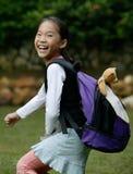Menina feliz Fotos de Stock