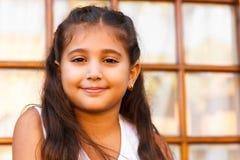 Menina feliz imagens de stock